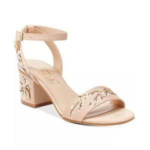 Nanette Leopore Ruby Block Heel Sandals